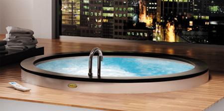 Дизайнерская ванна Jacuzzi Nova Top