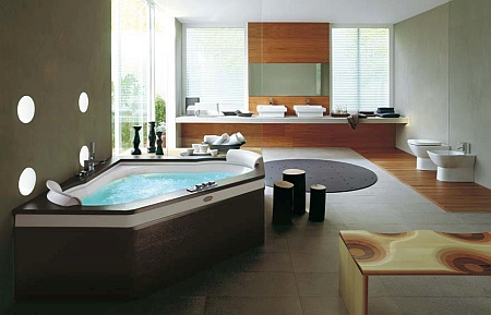 Ванна дизайнерская Jacuzzi Aura Corner 160