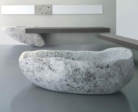ванна из коллекции Le Acque, Claudio Silvestrin, Toscoquattro